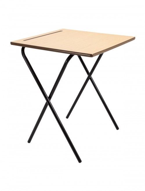 Exam Desks - Titan Premium Folding Exam Desk TC66ED-PREM-720-NS