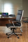Florence Faux Leather Office Chair Executive High Back FLO300T1 - enlarged view