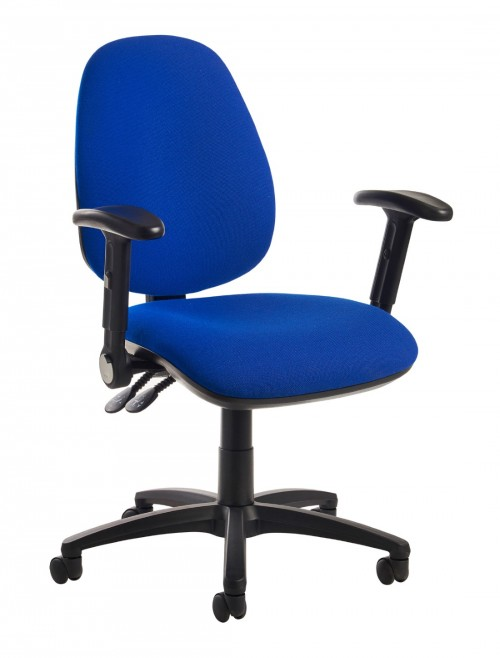 Jota High Back Operators Chair JH46-000 w/ Folding Arms