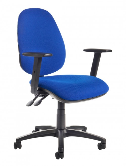 Jota High Back Operators Chair JH44-000 w/ Adjustable Arms
