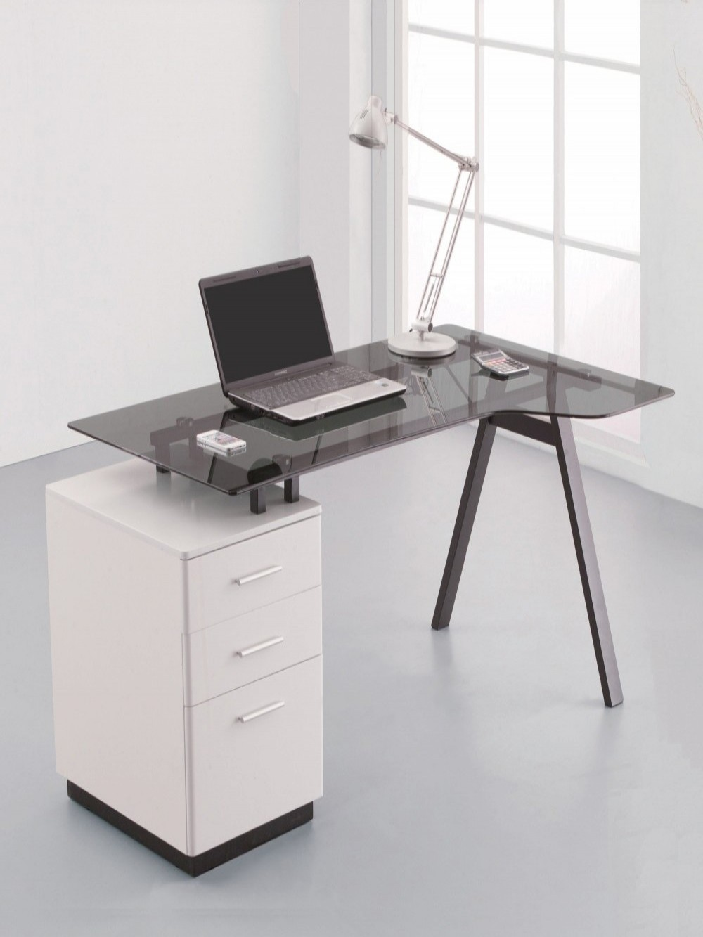 Home Office Desk Cleveland 4 Computer Desk AW23377-GY