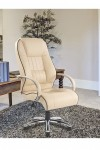 Dijon High Back Leather Faced Executive Chair 9211ATG - enlarged view