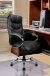 Sandown High Back Leather Faced Executive Armchair 617KTAG - enlarged view