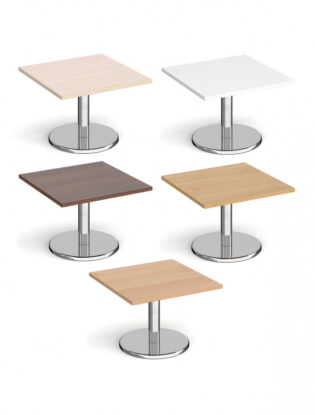 Square Coffee Table Pisa 700mm PCS700 by Dams