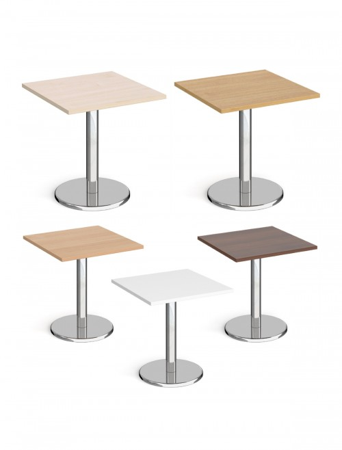 Square Dining Table Pisa 700mm PDS700 by Dams