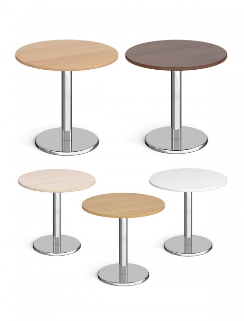 Round Dining Table Pisa 800mm PDC800 by Dams