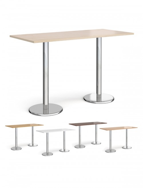 Rectangular Poseur Table Pisa 1800mm PPR1800 by Dams