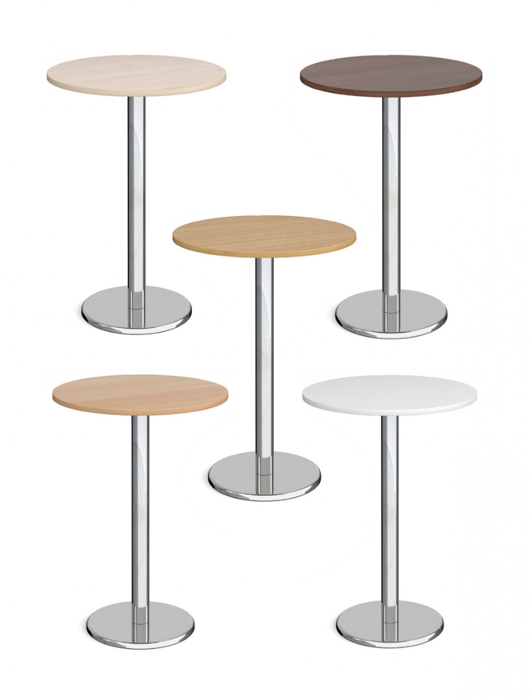 Round Poseur Table Pisa 800mm PPC800 by Dams
