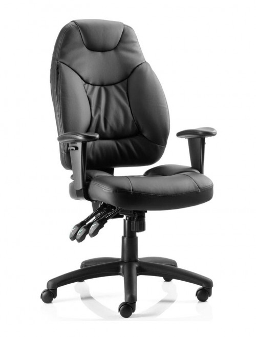 Office Chairs - Galaxy Leather Operators Chair