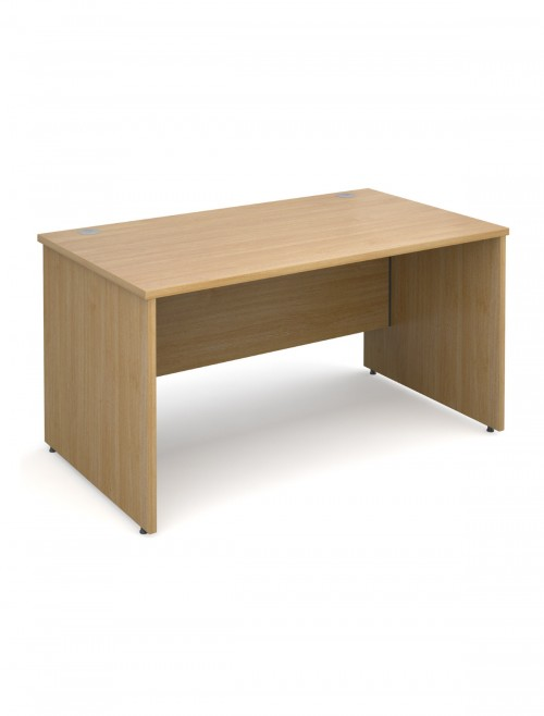 Oak Office Desk 1400x800mm Maestro 25 Panel Desk MW14O by Dams