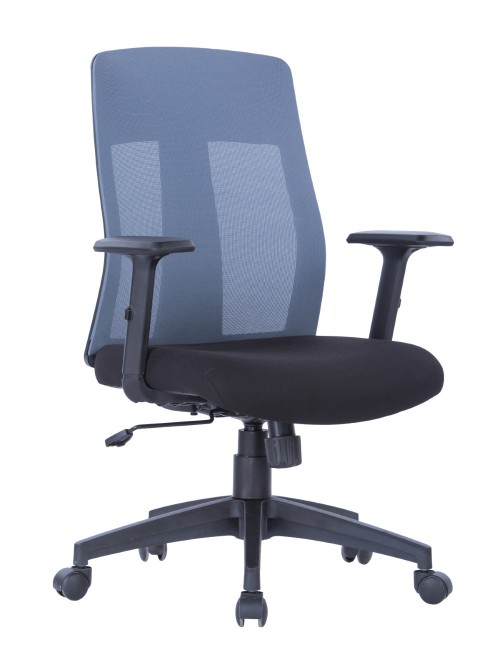 Mesh Office Chair Grey Laguna AOC1705GRY by Alphason