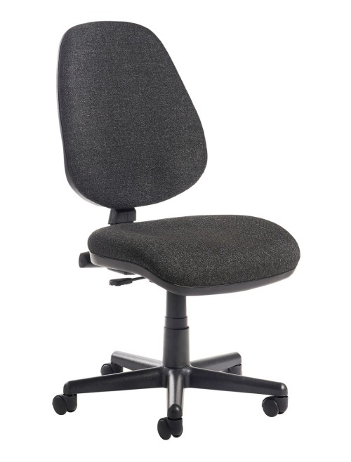 Office Chair Charcoal Bilbao Operator Chairs BILB1-C by Dams