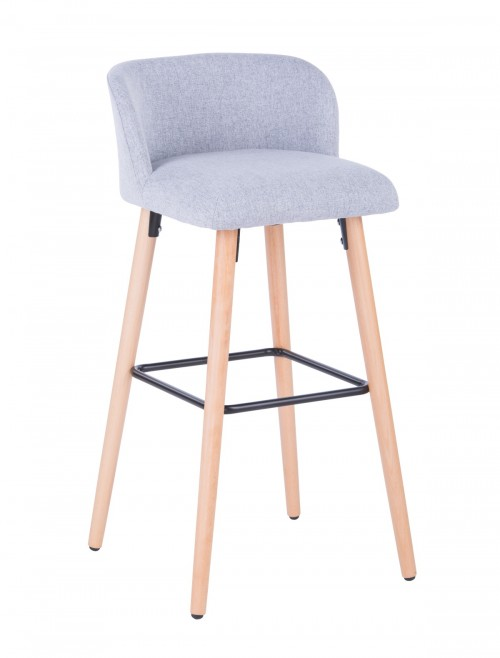 Barstool Grey Claremont ABS2169GRY by Alphason