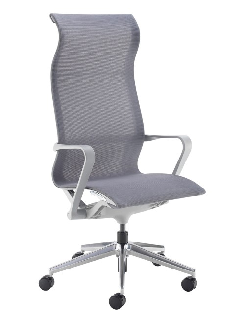 Mesh Office Chair Grey Lola Operator Chair LOL300T1-G by Dams