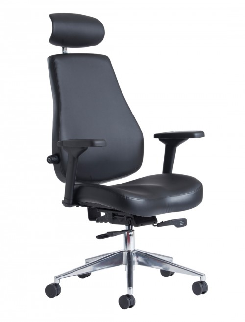 Office Chair Franklin High Back 24 Hour Task Chair FRA400K2 by Dams