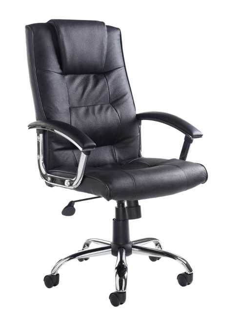 Somerset Leather Faced High Back Executive Chair SOM300T1