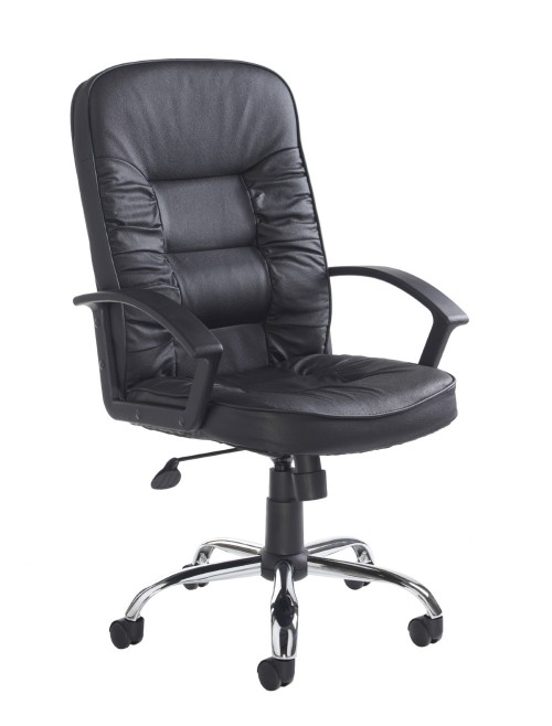 HER300T1 Hertford Leather Faced Managers Chair