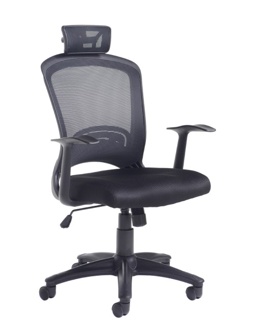 Office Chair Solaris Mesh Operators Chair SOL300T1-K by Dams