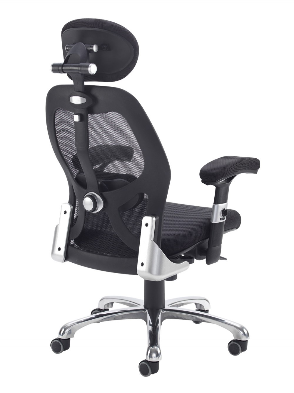 Mesh Office Chair Black Sandro Ergonomic Office Chair SND300K2-K by Dams