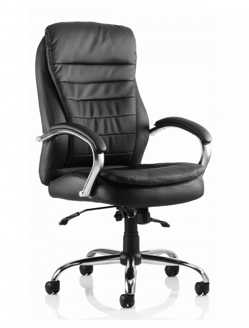 Office Chairs - Rocky Heavy Duty Executive Leather Chair EX000061