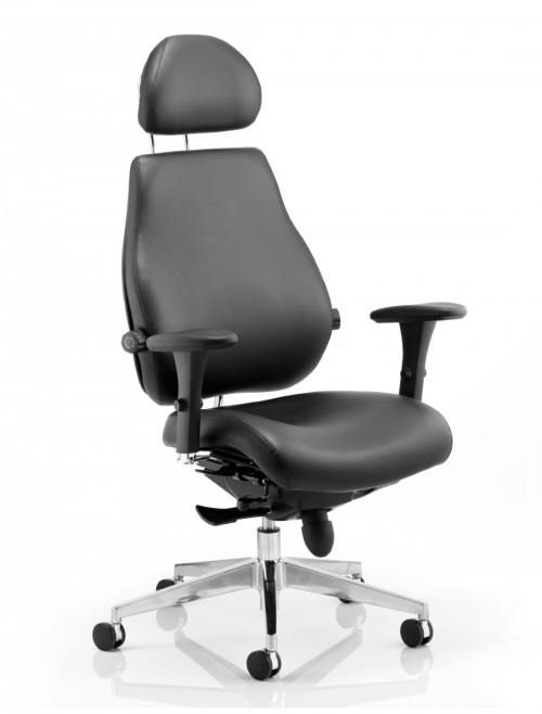 Chiro Plus Ultimate 24 Hour Leather Office Chair PO000013