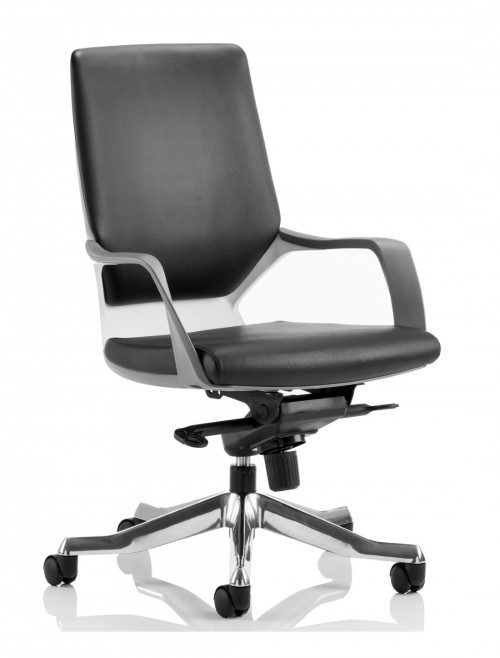 Dynamic Xenon Medium Executive Black Leather Office Chair EX000095