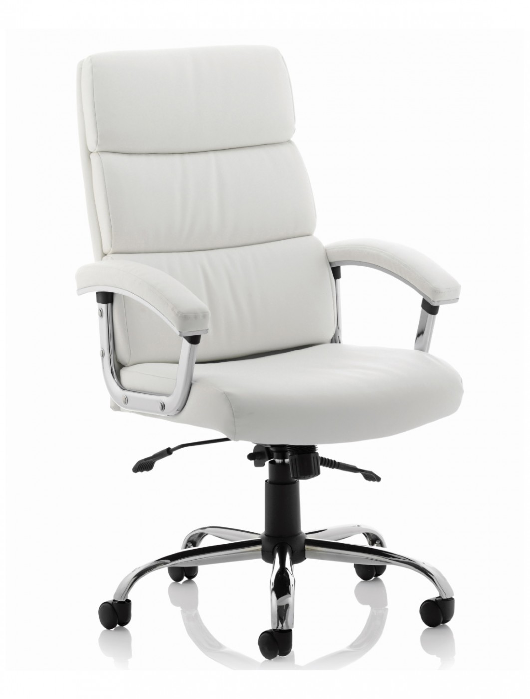 Dynamic Desire Executive Leather Office Chair in White