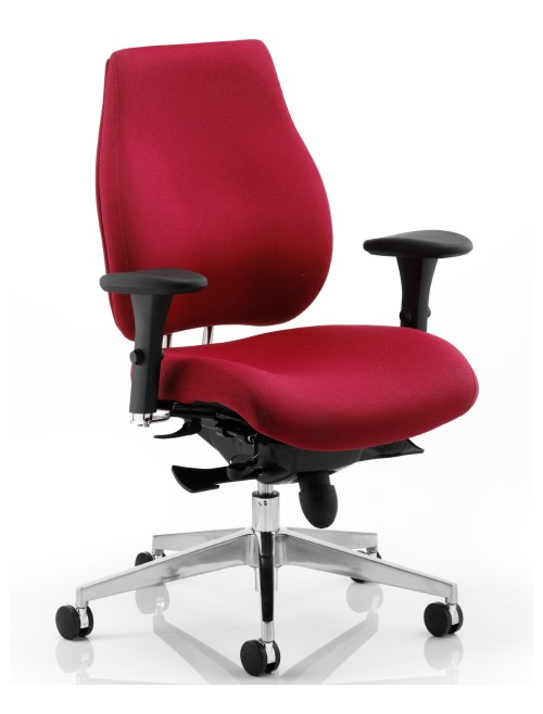 Office Chairs - Chiro Plus Fabric Office Chair
