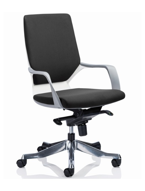 Dynamic Xenon Medium Executive Black Fabric Office Chair