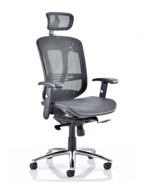Mirage 2 Executive Mesh Office Chair with Headrest KC0148