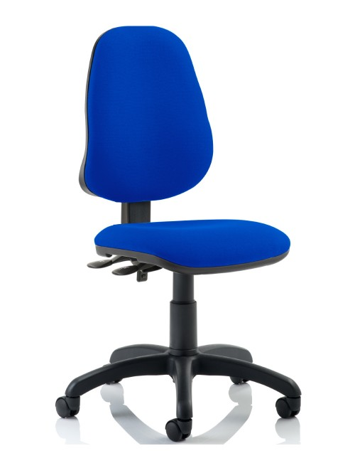 Office Chairs - Eclipse 2 Fabric Operator Chairs in Blue DE02BL