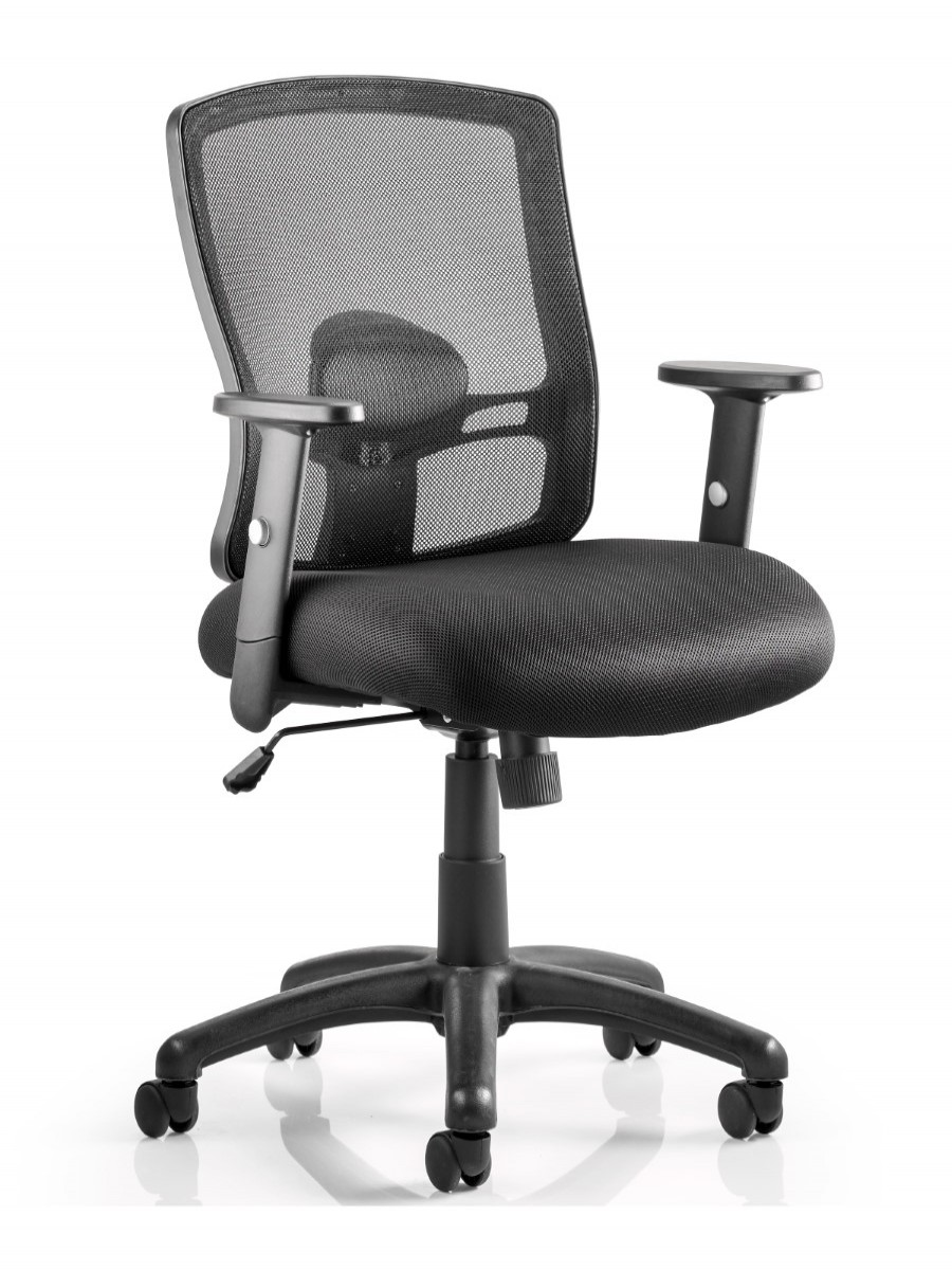 Picture of: Dynamic Portland Mesh Back Office Chair Op000105 121 Office Furniture