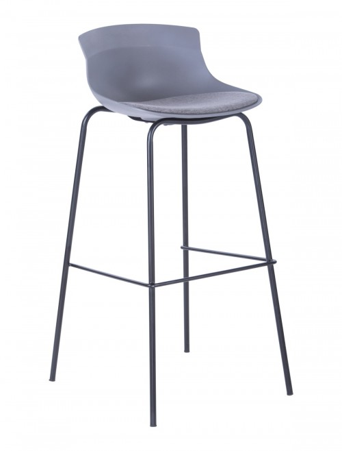 Barstool Grey Helena ABS7085GRY by Alphason