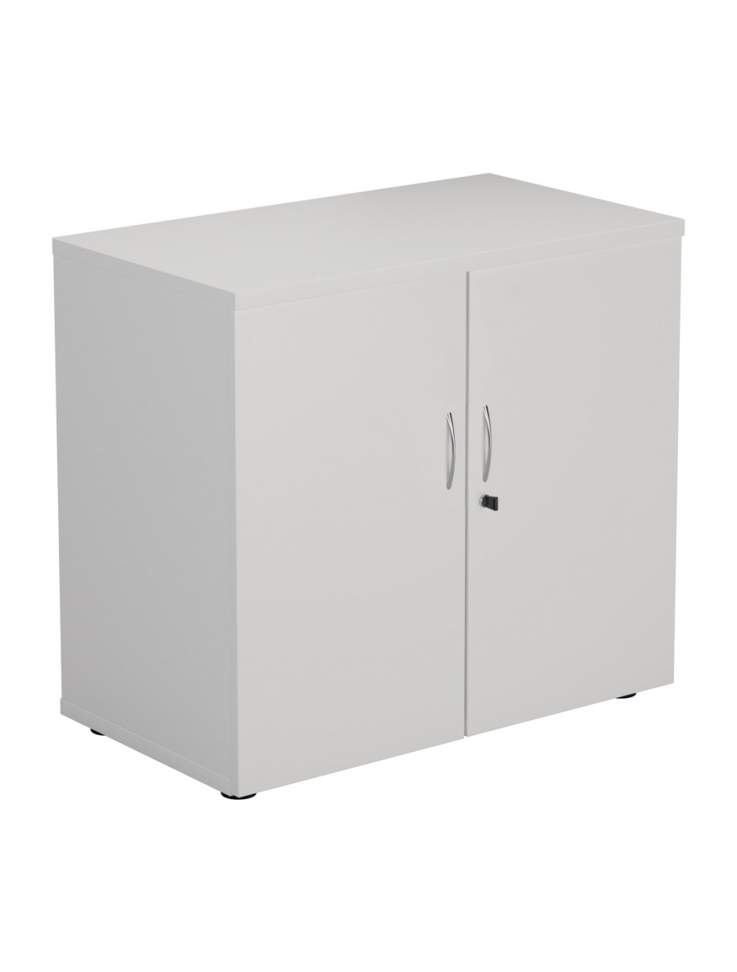 Desk High Cupboard in White LITE745WDWH