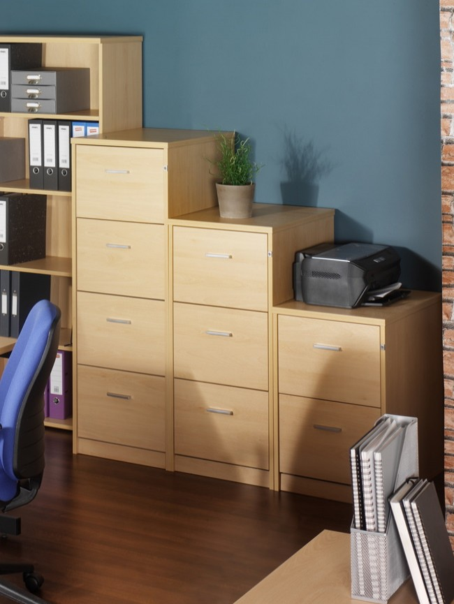 Deluxe Executive 3 Drawer Filing Cabinet LF3