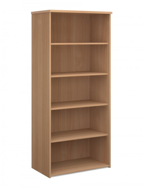 Office Bookcase 1790mm High Bookcase with 4 Shelves R1790 by Dams