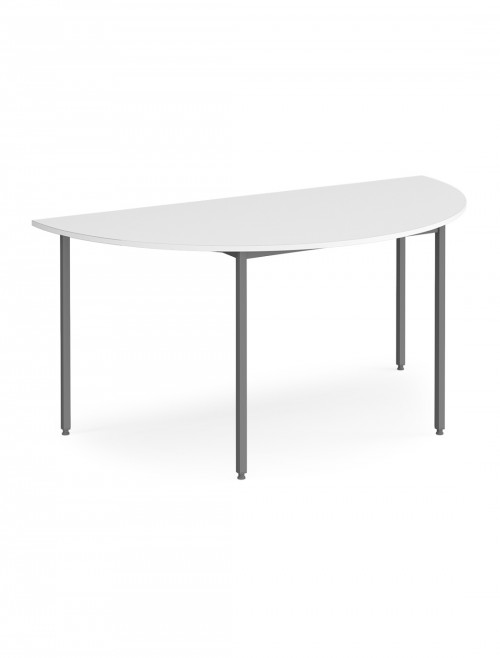 Dams Flexi-Table 1600mm Semi Circular with Graphite Frame FLXGS