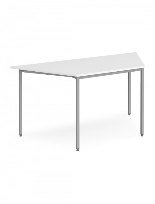 Dams Flexi-Table 1600mm Trapezoidal with Silver Frame FLXST
