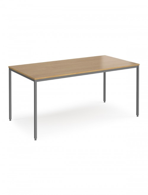 Flexi Meeting Table Rectangular 1600x800mm FLXG16 by Dams