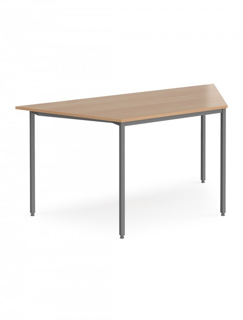 Dams Flexi-Table 1600mm Trapezoidal with Graphite Frame FLXGT