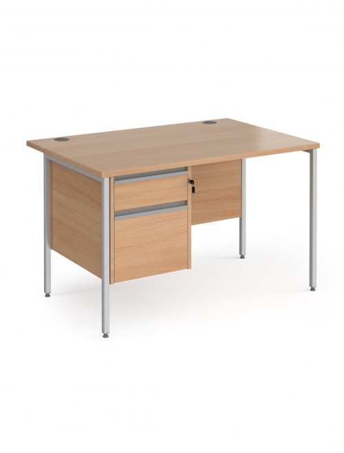 Contract 25 Beech Office Desks