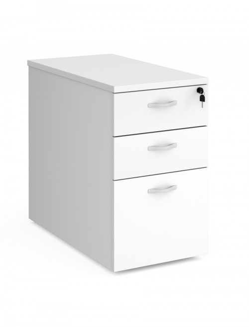 Dams 3 Drawer Deluxe Desk High Pedestal P83D - 800mm Deep