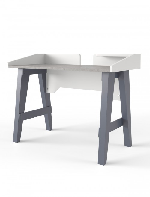 Home Office Desk Grey Truro Study Desk AW3190 by Alphason