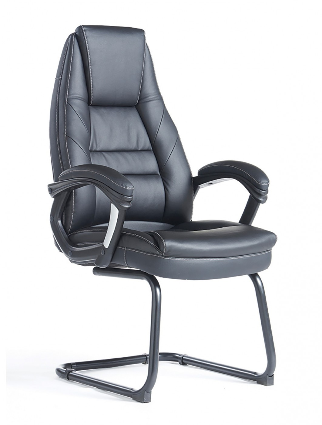 Dams Noble Faux Leather Executive Visitor Chairs NBO100C1
