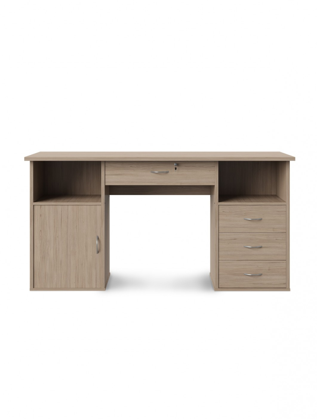 Home Office Desk Oak Dallas Computer Desk AW12289OAK by Alphason Dorel