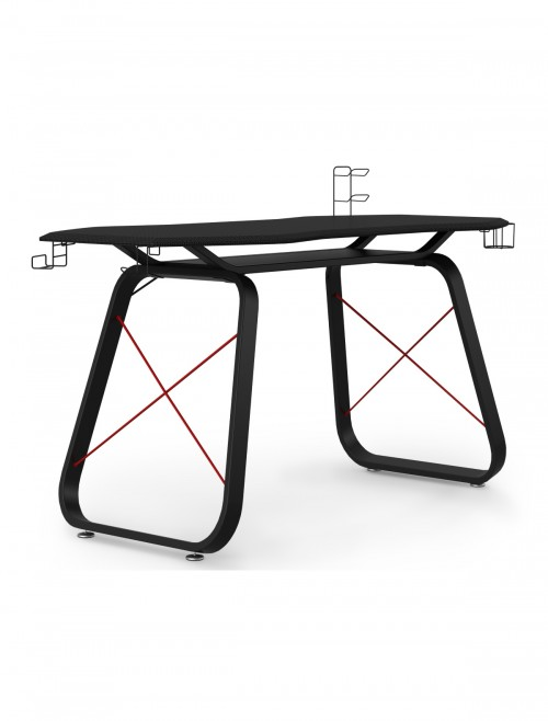 Gaming Desk Oblivion Black Home Office Desk AW9220 by Alphason Dorel