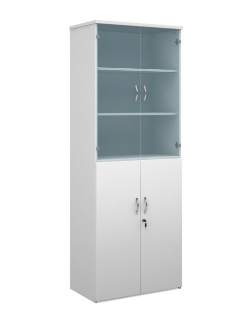 2140mm High Combination Unit R2140COM with Top Glass Doors