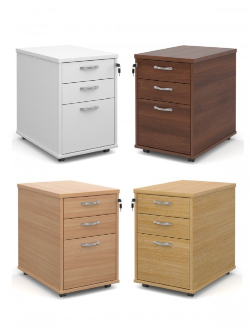 TMP Tall Mobile Pedestal 3 drawer
