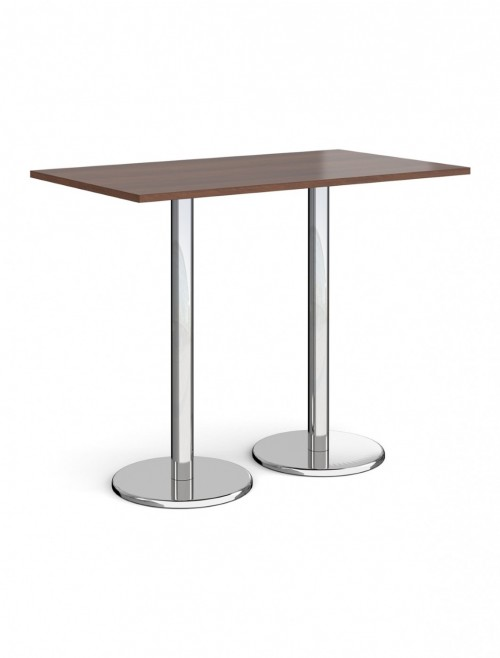 Rectangular Poseur Table Pisa 1400mm PPR1400 by Dams