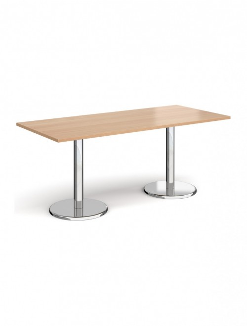 Rectangular Dining Table Pisa 1800mm PDR1800 by Dams